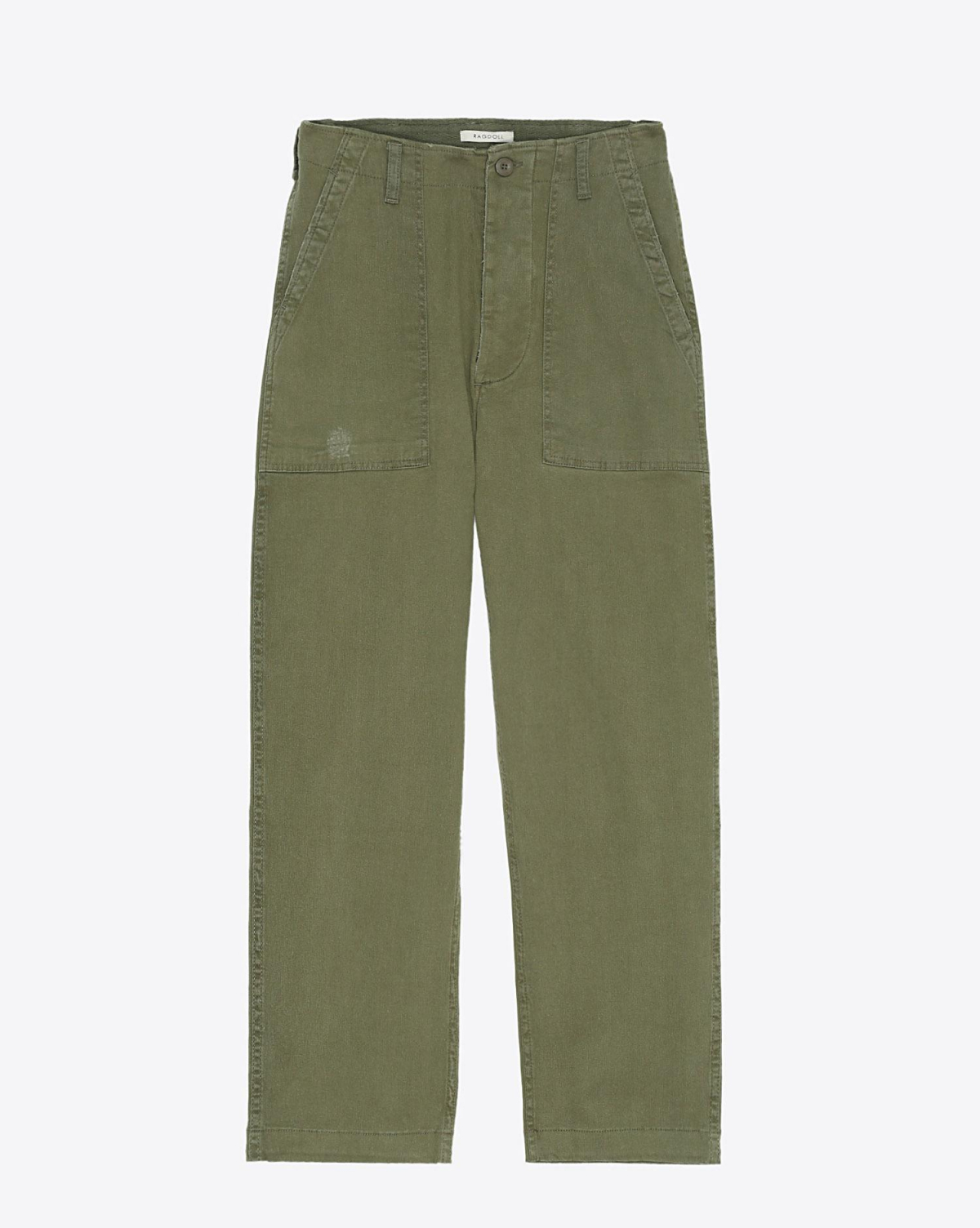 Ragdoll LA Surplus Pant - Army Green