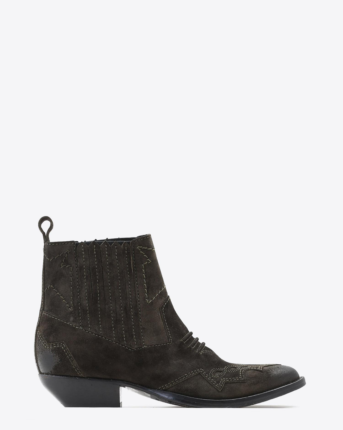 Roseanna Chaussures Boots Santiags TUCSON - Forêt Bronze