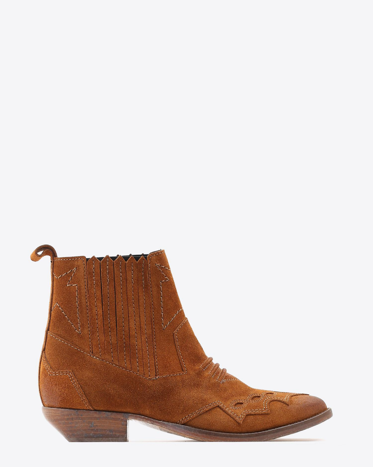 Roseanna Chaussures Boots Santiags TUCSON - Whisky