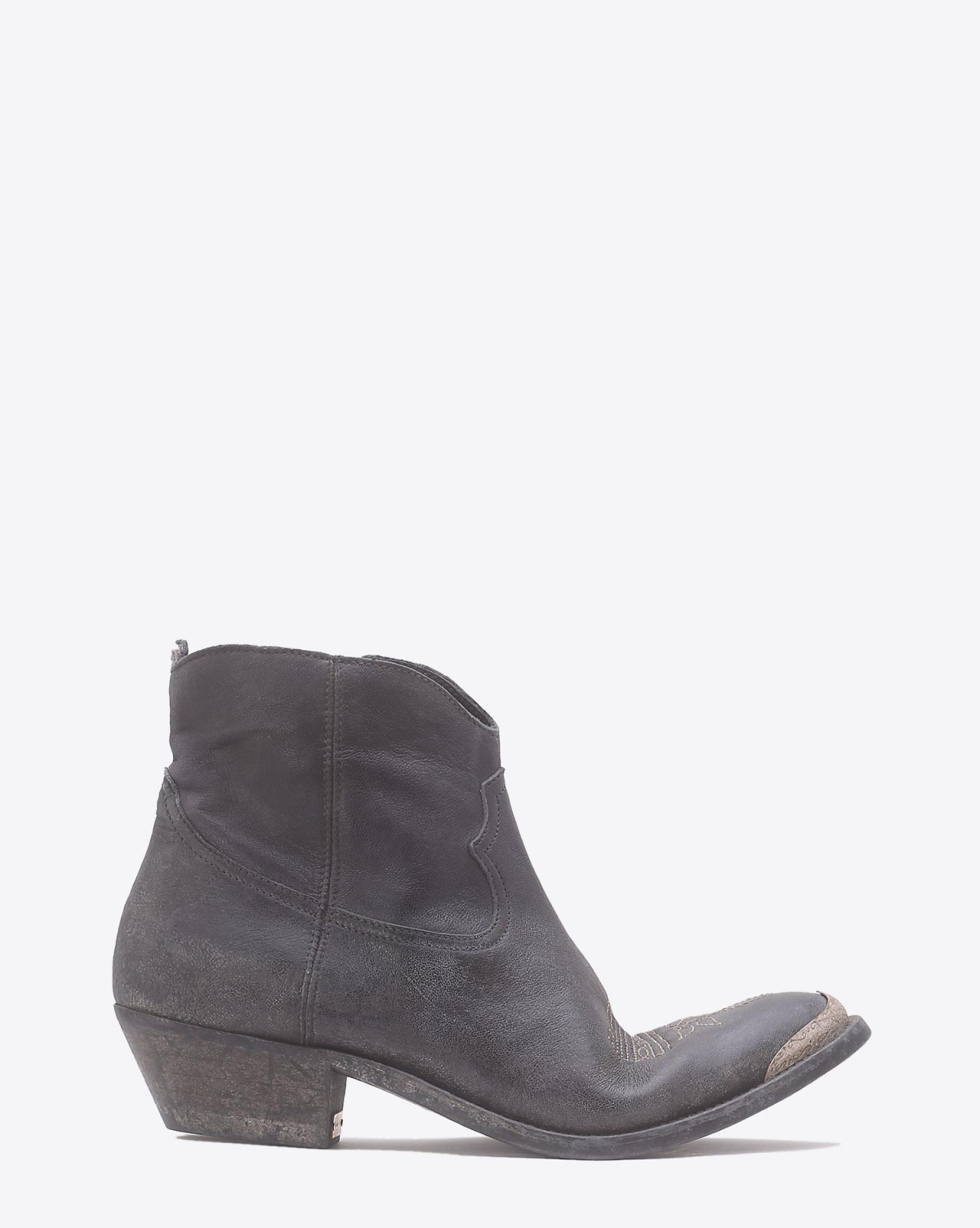 Golden Goose Woman Chaussures Pré-Collection Boots Young - Mid Grey