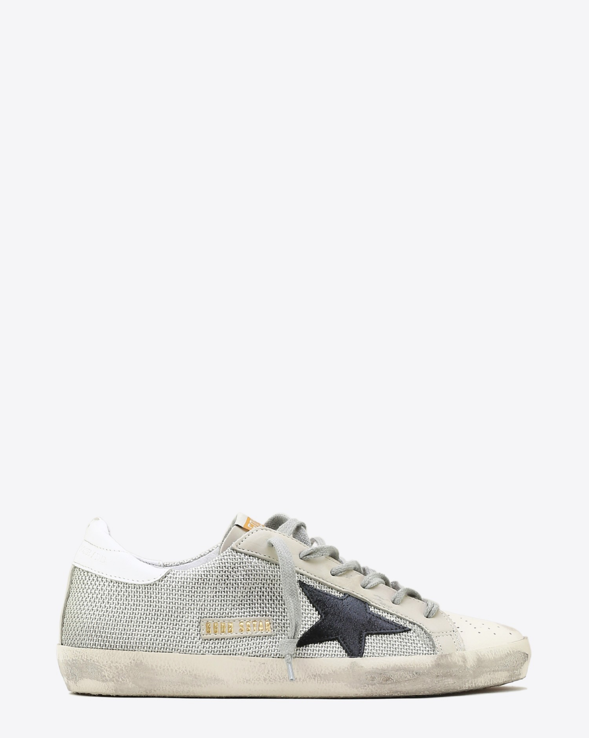 Golden Goose Woman Permanent Sneakers Superstar - Grey Cord Gum
