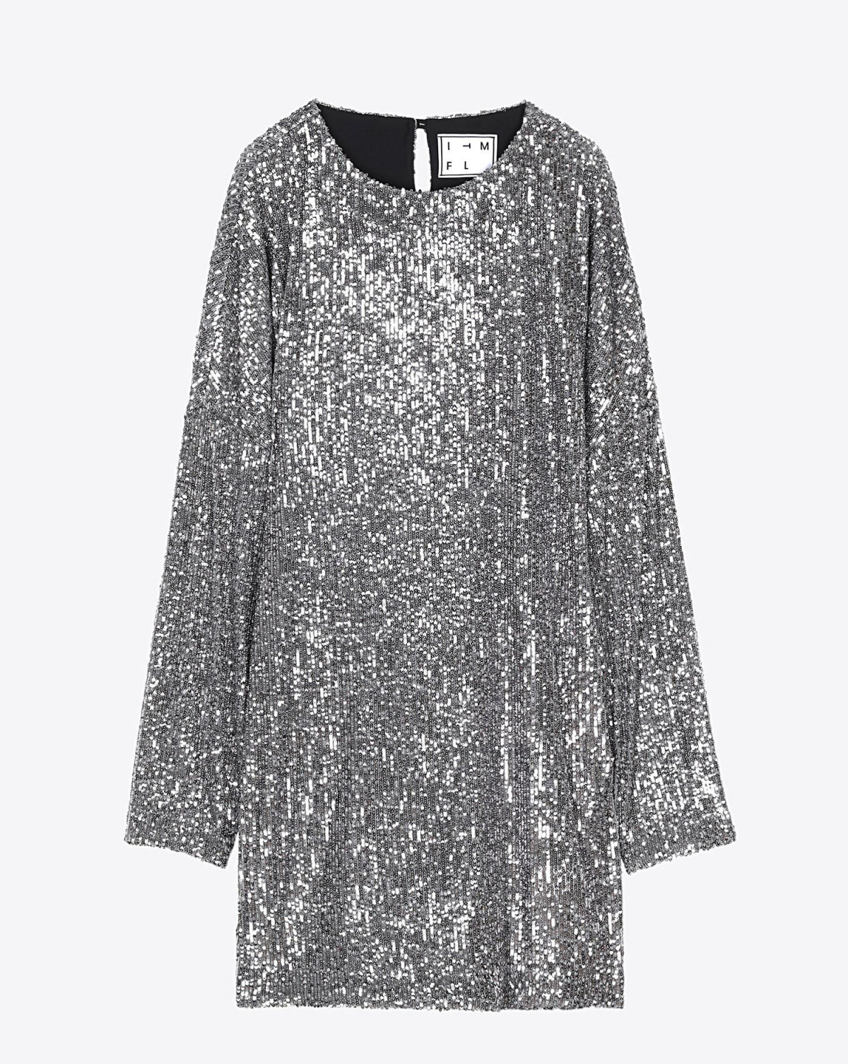 In The Mood For Love Pré-Collection Alexandra Dress - Silver/Grey