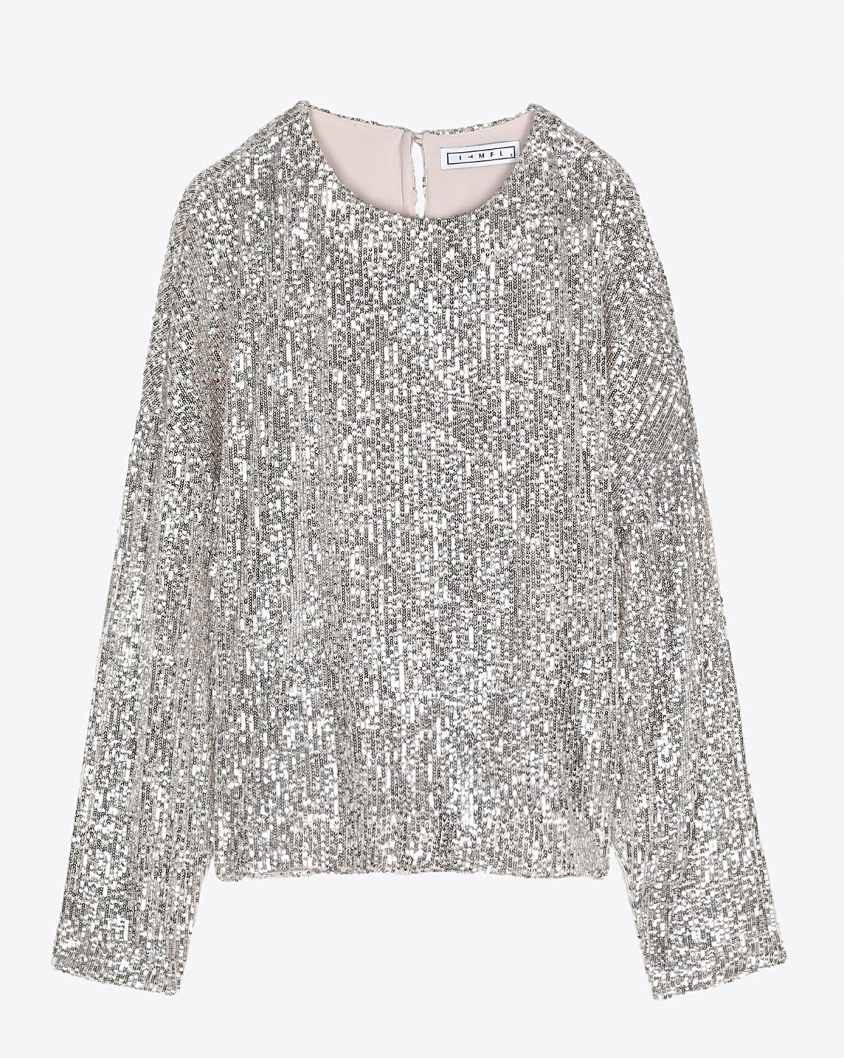 In The Mood For Love Pré-Collection Alexandra Top - Beige/Silver