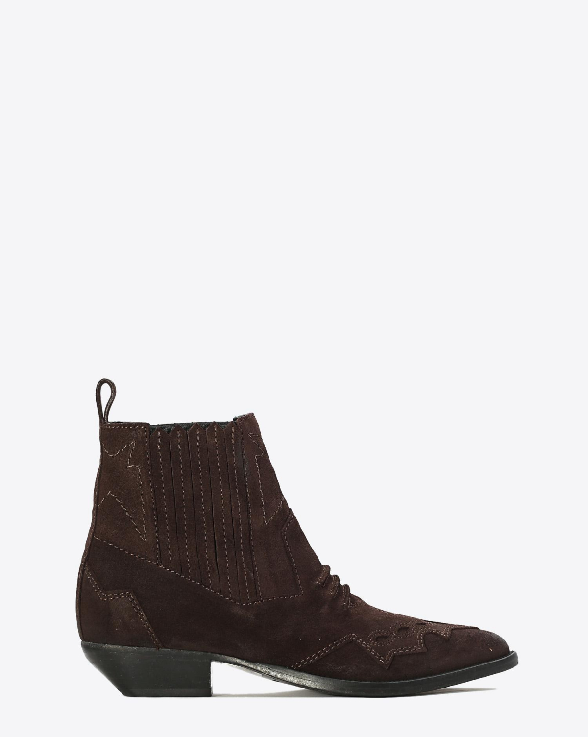Roseanna Chaussures Boots Santiags TUCSON - Chocolat