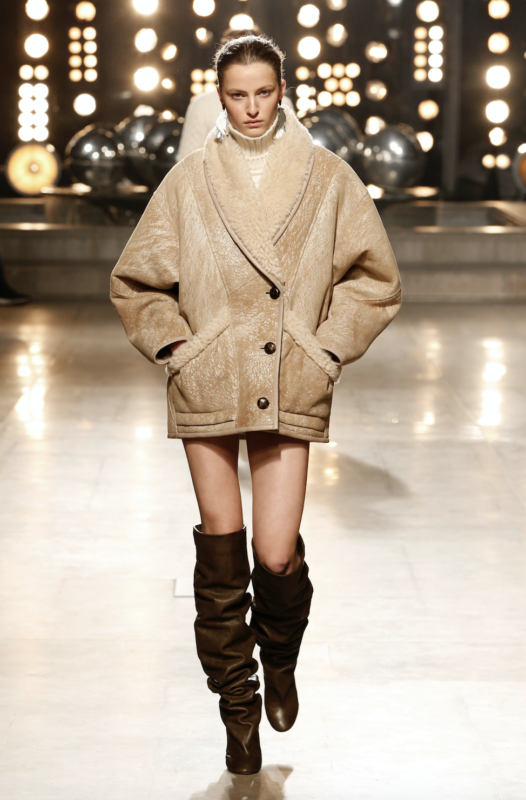 Silhouette Isabel Marant automne-hiver 2019