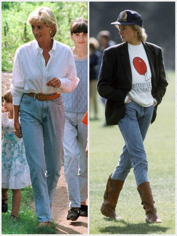 Style nineties chic inspiration Lady Di
