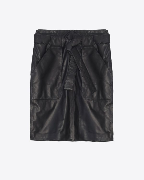 Jupe Anine Bing Laurie Leather Skirt