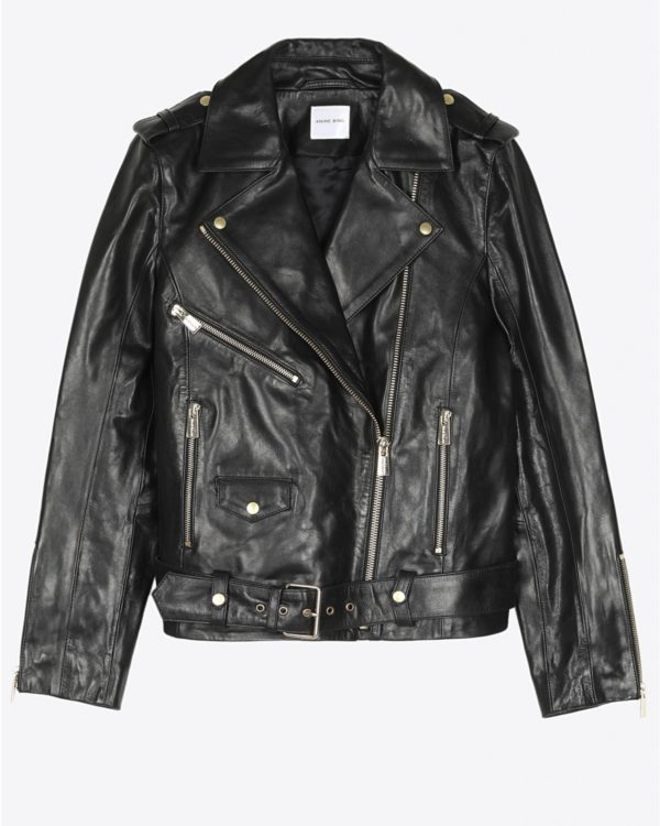 Veste Anine Bing Vintage Leather Jacket - Black