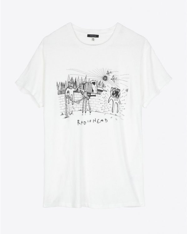 Tee Shirt R13 Denim Collection Dspt Event Boy T - Dirty White