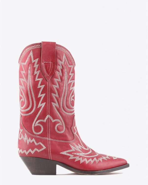 Bottes Isabel Marant Chaussures Botte DUERTO - Red