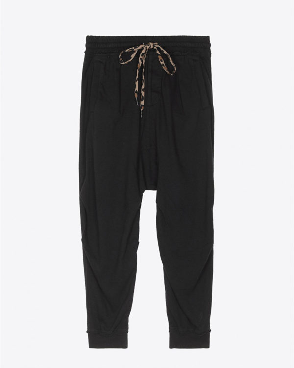 Pantalon R13 Denim Collection Harem Sweatpant - Acid Black
