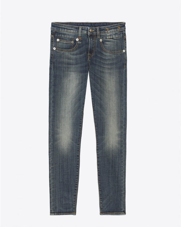 Jean R13 Denim Permanent Boy Skinny - Vintage Dark