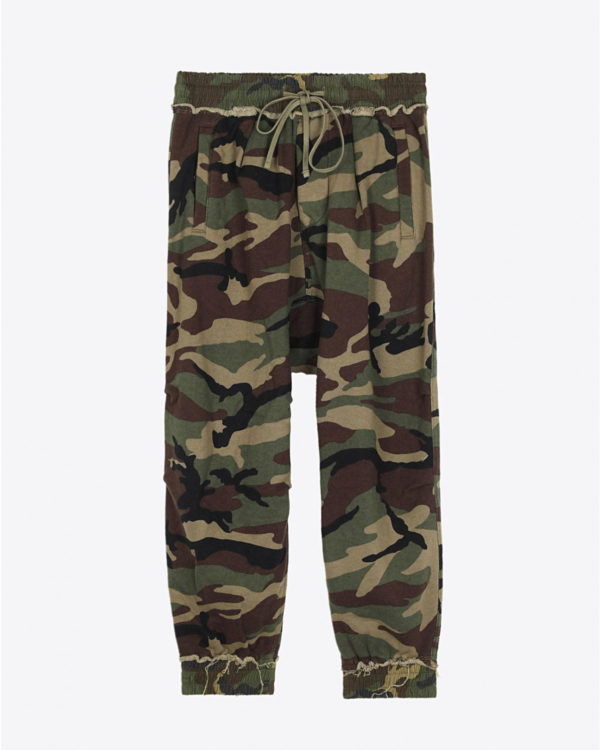 Pantalon R13 Denim Pré-Collection Harem Sweatpant - Camo