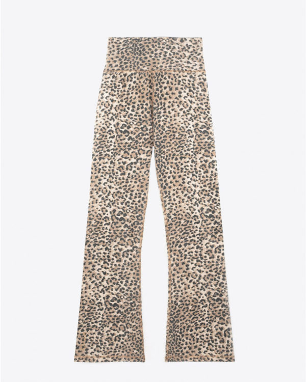 Pantalon Ragdoll LA Leggings Crop - Brown Leopard