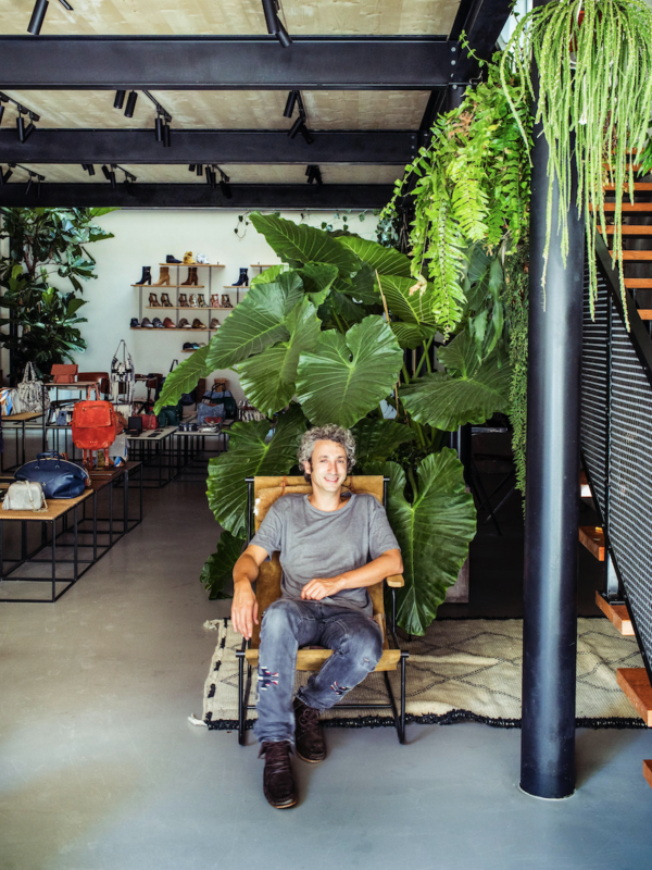 Jérôme Dreyfuss, how he's a green designer